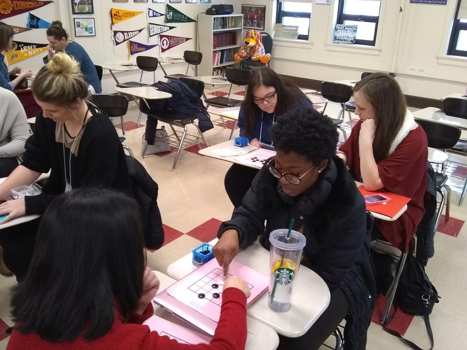 Teacher training workshop at Metropolitan Mathematics Club of Chicago