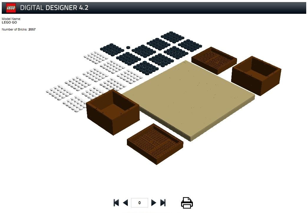 Screenshot of the design