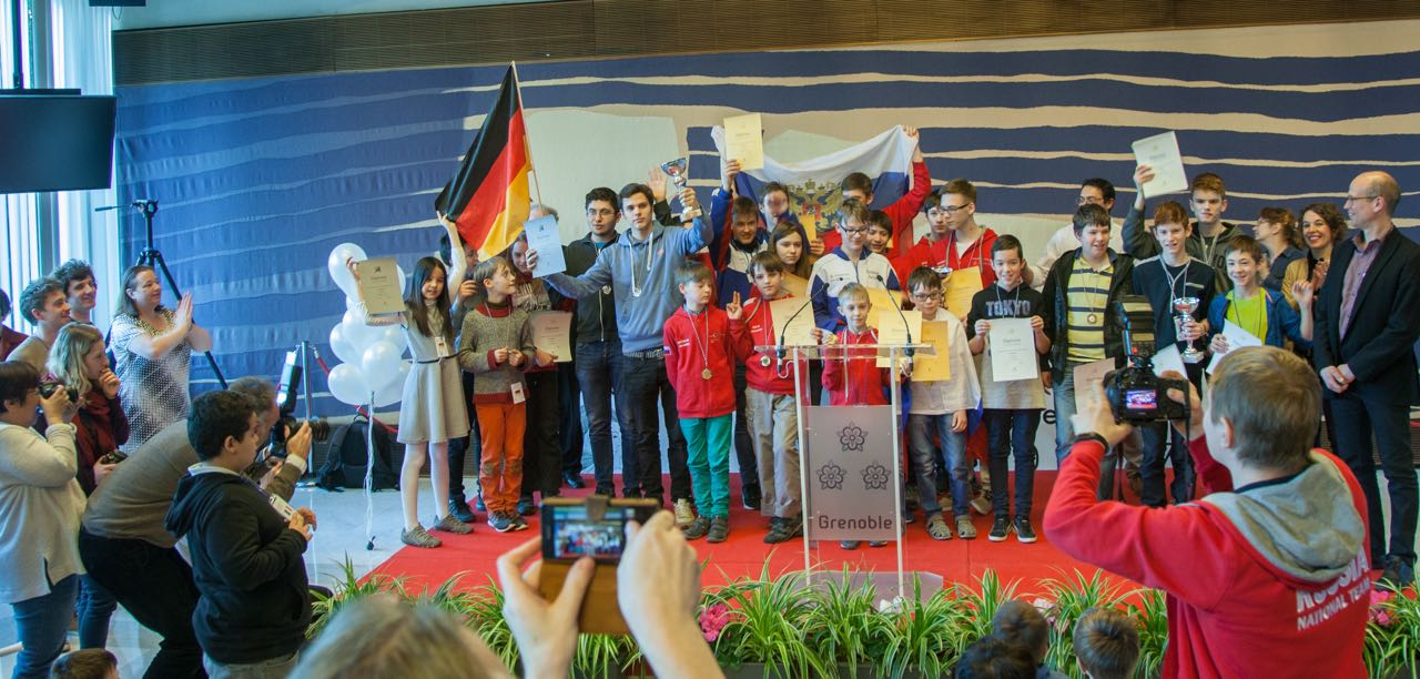 The European Youth Team Championship helps a lot to get publicity for youth Go in Europe