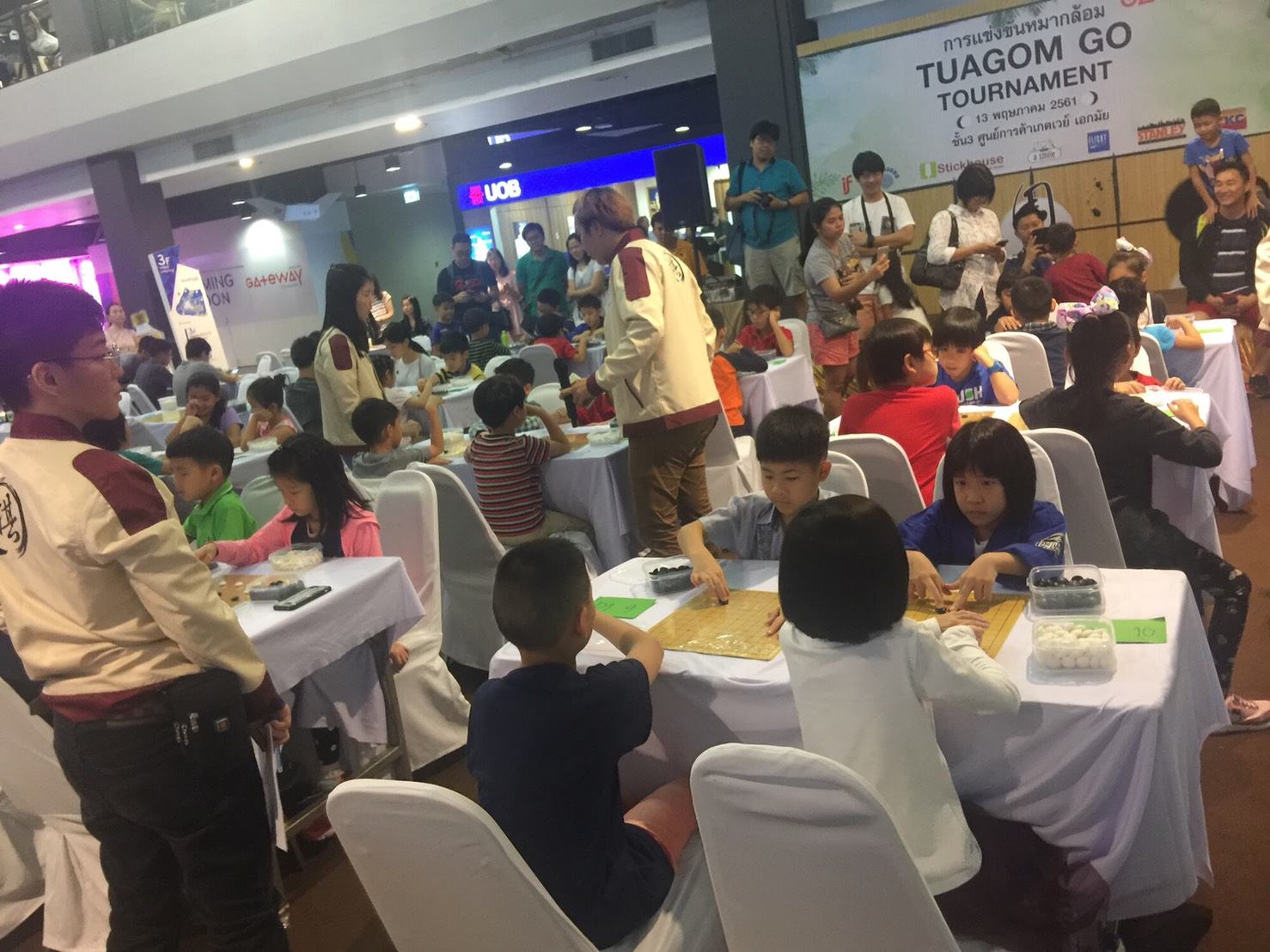 The Tuagom Go Tournament in full swing