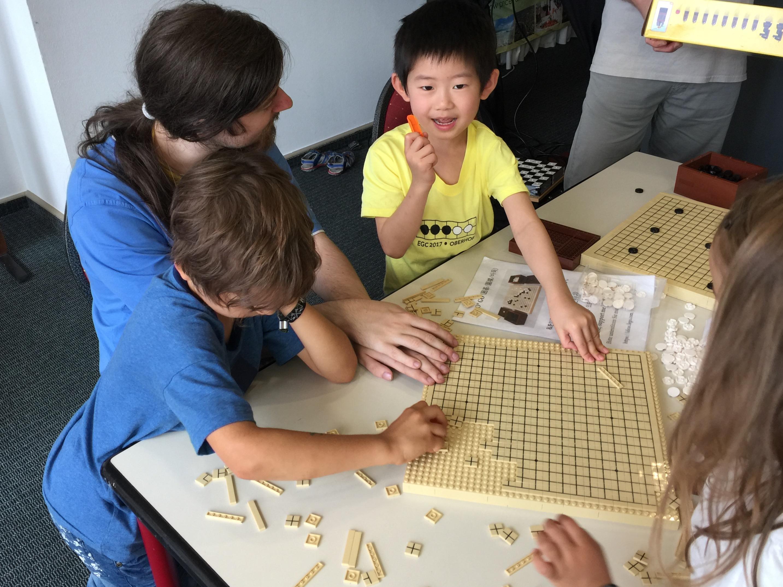 2017 EGC, Oberhof - Kids are having fun